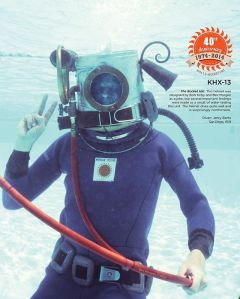 Kirby Morgan Dive Helmet 1974